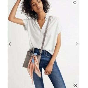 NWT Madewell Central Button Down Shirt - Small